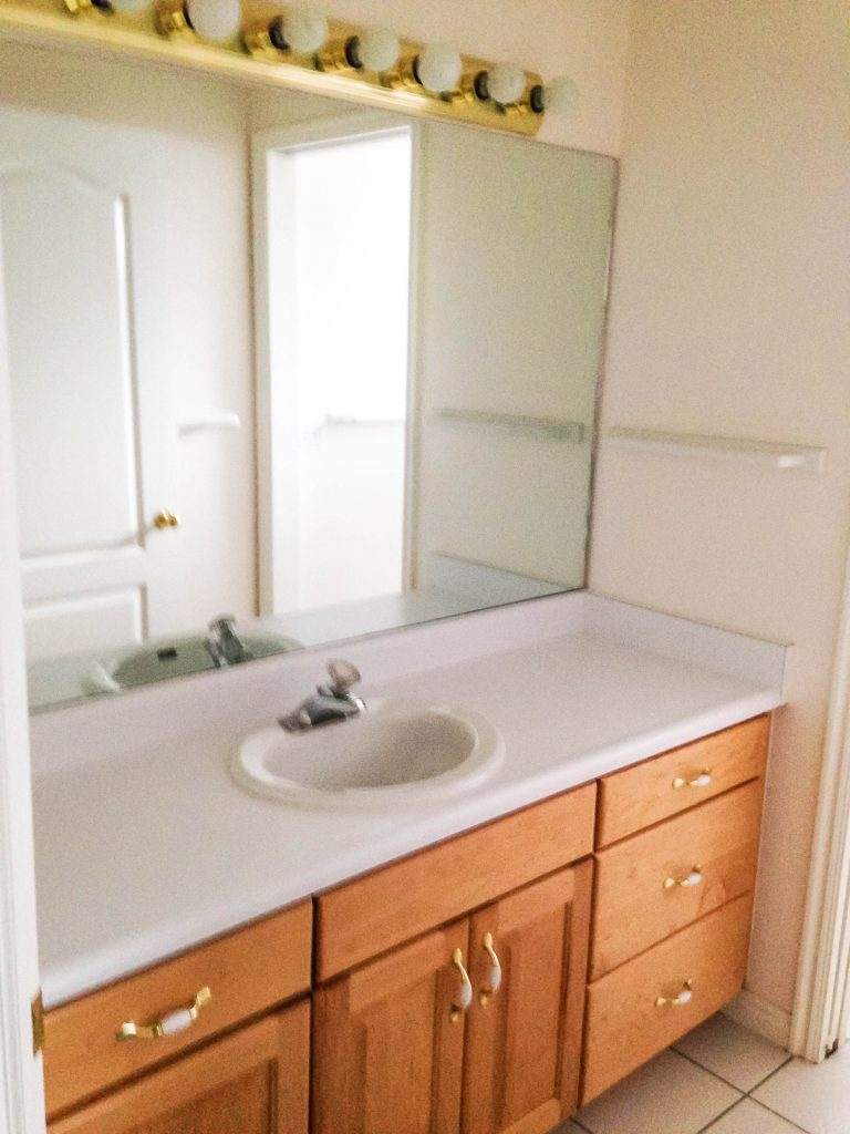 DIY Bathroom Remodel on a Budget + 12 Tips to Stay on Budget