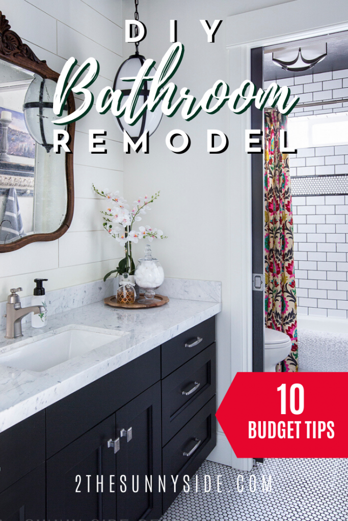 Diy Bathroom Remodel On A Budget 10 Tips To Stay