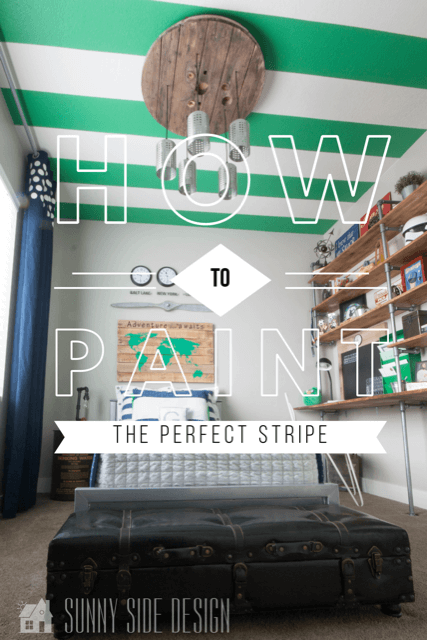 Painting the perfect stripe