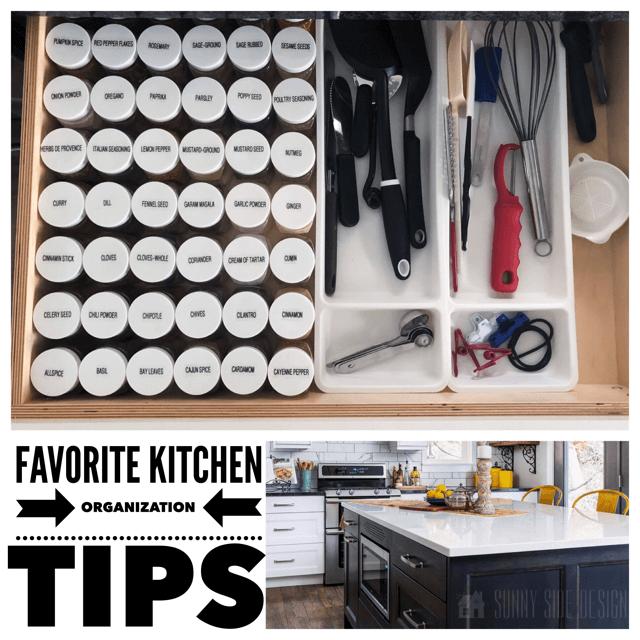 Favorite Kitchen Organization Tips