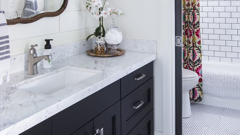 DIY Bathroom Remodel on a Budget