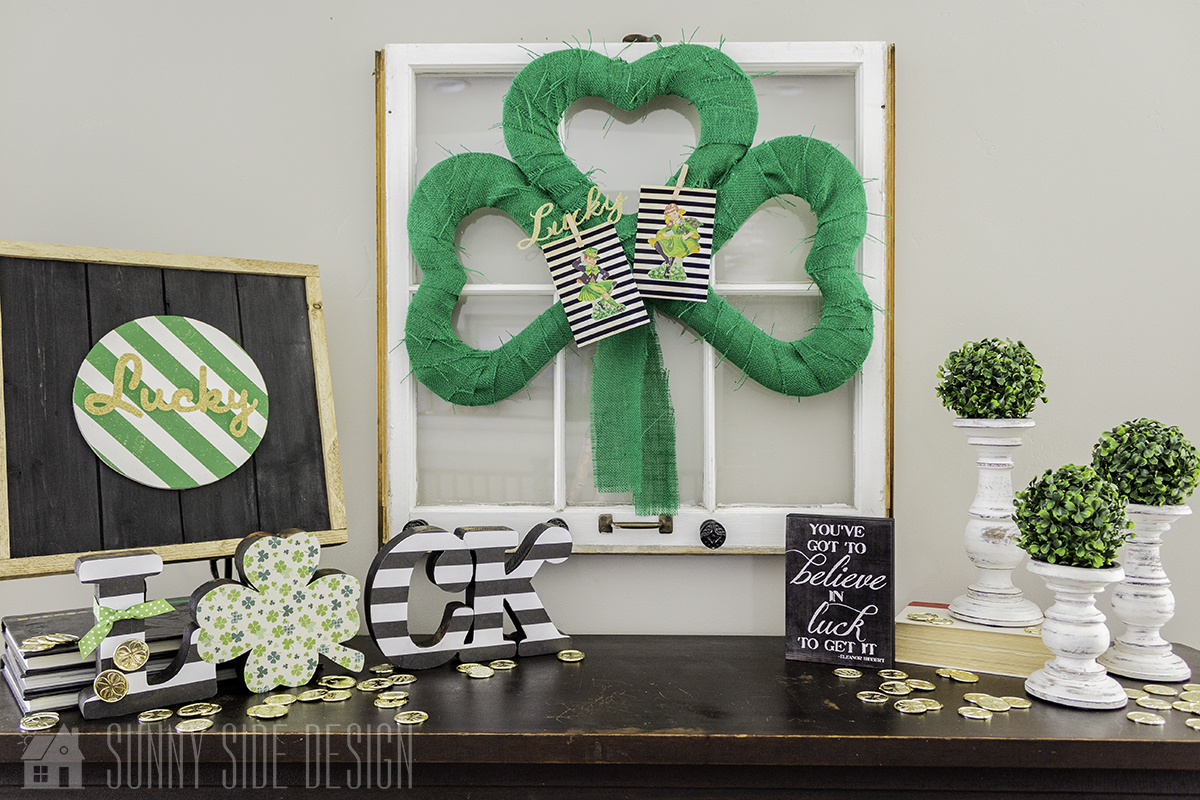 Luck of the Irish Shamrock Tutorial