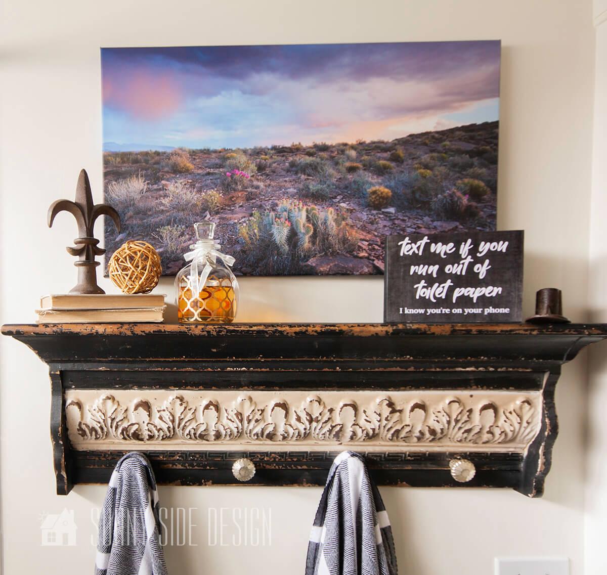 photo regarding Free Printable Bathroom Art called Lavatory Artwork Totally free Printables Sunny Aspect Style
