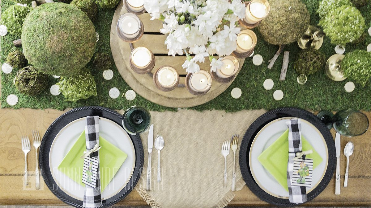 Simple Tablescape Ideas for St. Patrick's Day