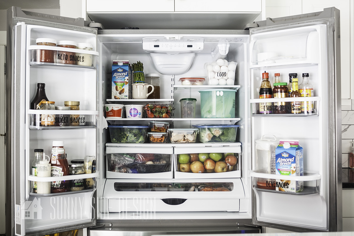 Organize Your Fridge in 5 Simple Steps