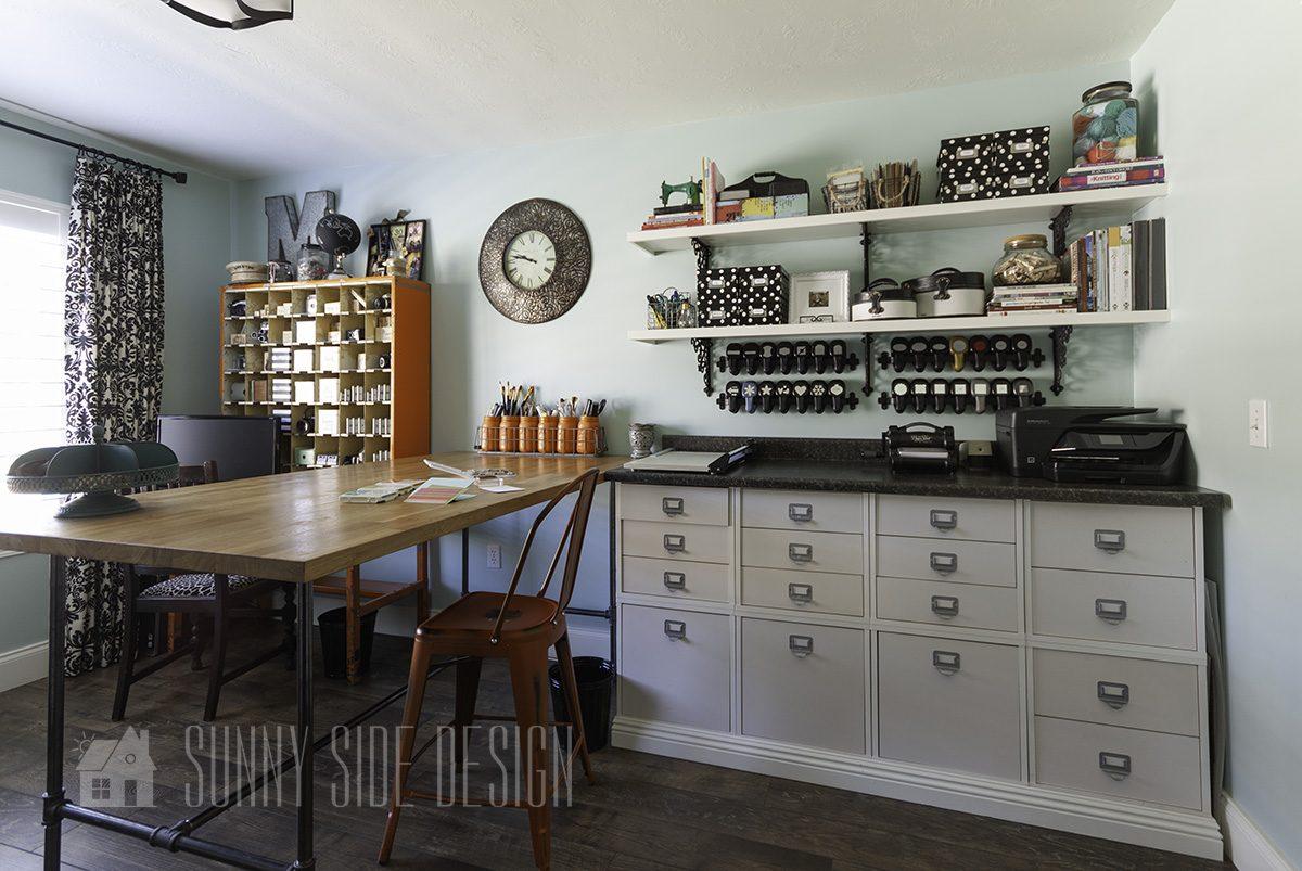 Office Craft Room Organization Ideas