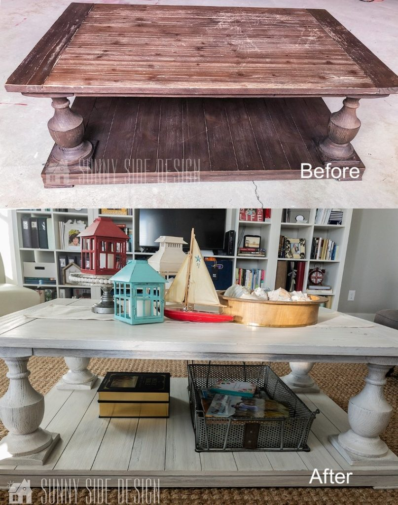 Furniture Makeover | With Paint and Glaze