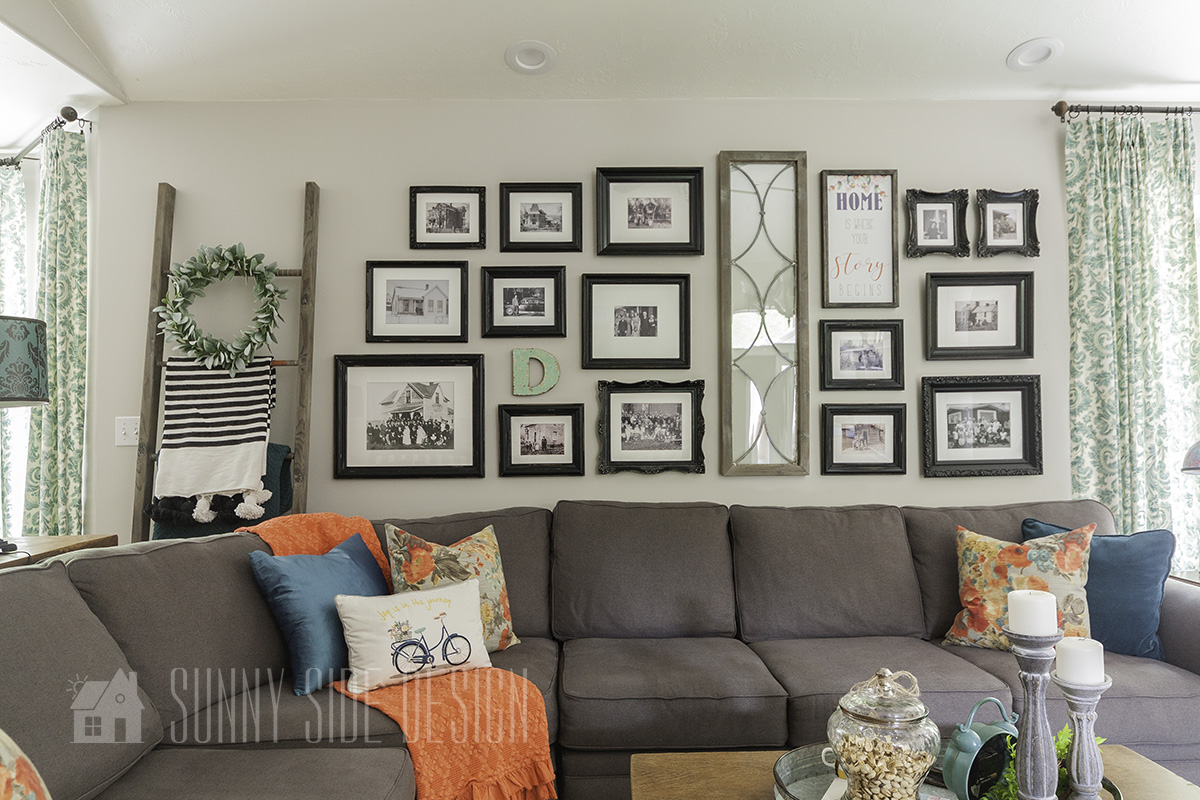 The Easy Way to Hang a Gallery Wall