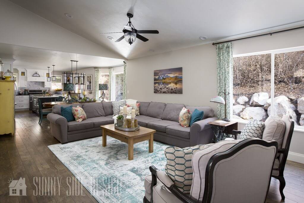 Tour My Comfortable & Cozy Living Room – Sunny Side Design