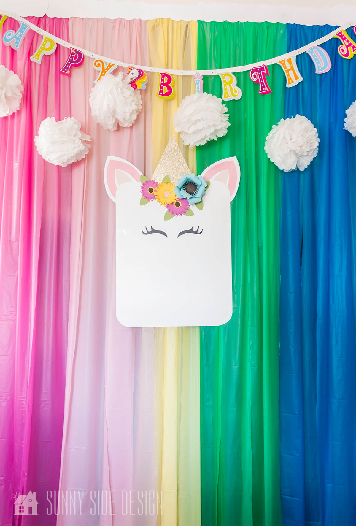 Unicorn and Rainbow Party