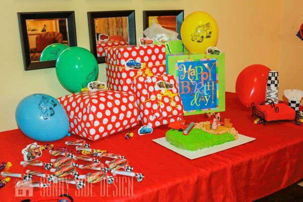 Budget Friendly Ideas For A Car Themed Birthday Party Sunny Side Design