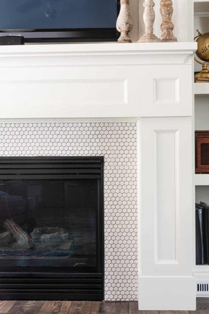 Diy Fireplace Mantle And Surround Sunny Side Design