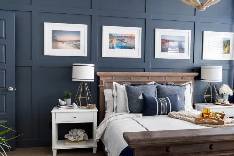 calm coastal master bedroom retreat