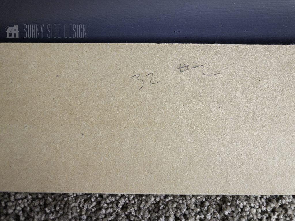label horizontal boards