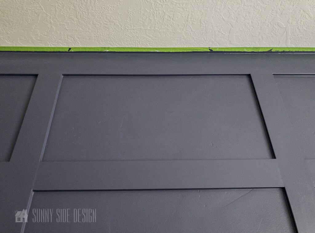 best tip to get a crisp paint line at the ceiling