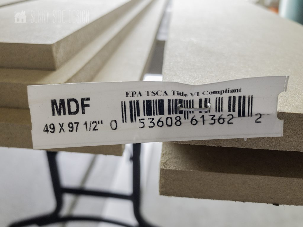 """4"""" strips of mdf"""