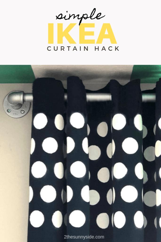 Polka Dot Paint Curtains
