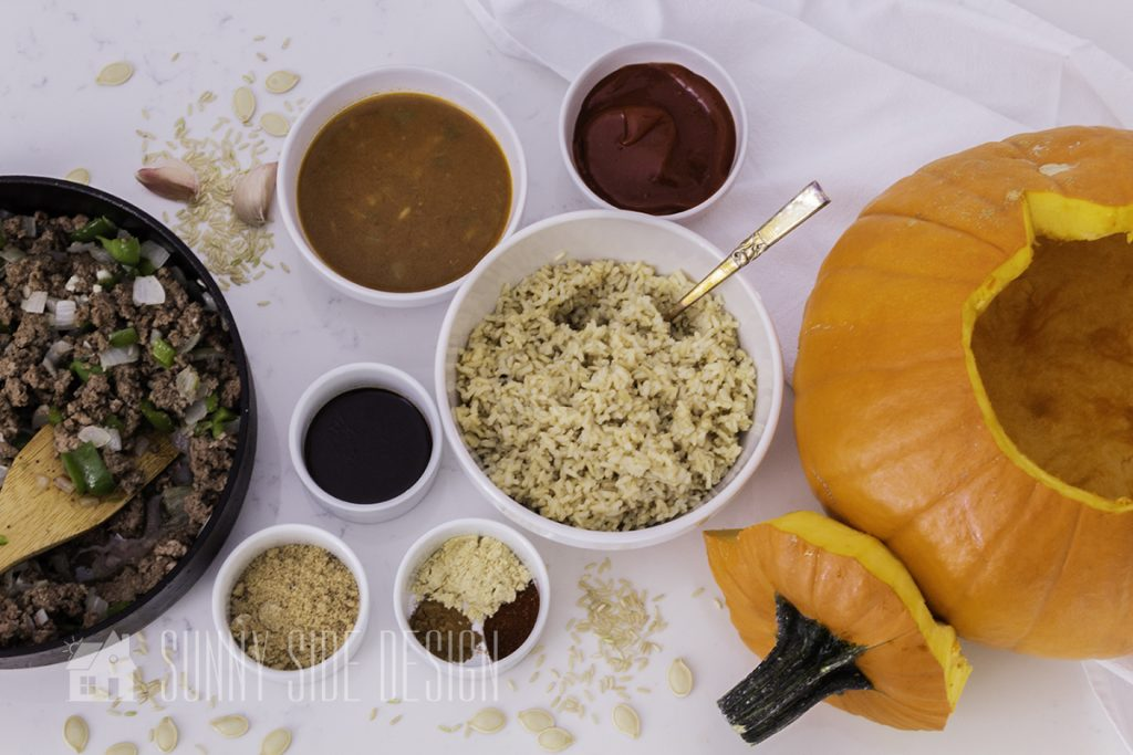 Ingredients for recipe for Halloween