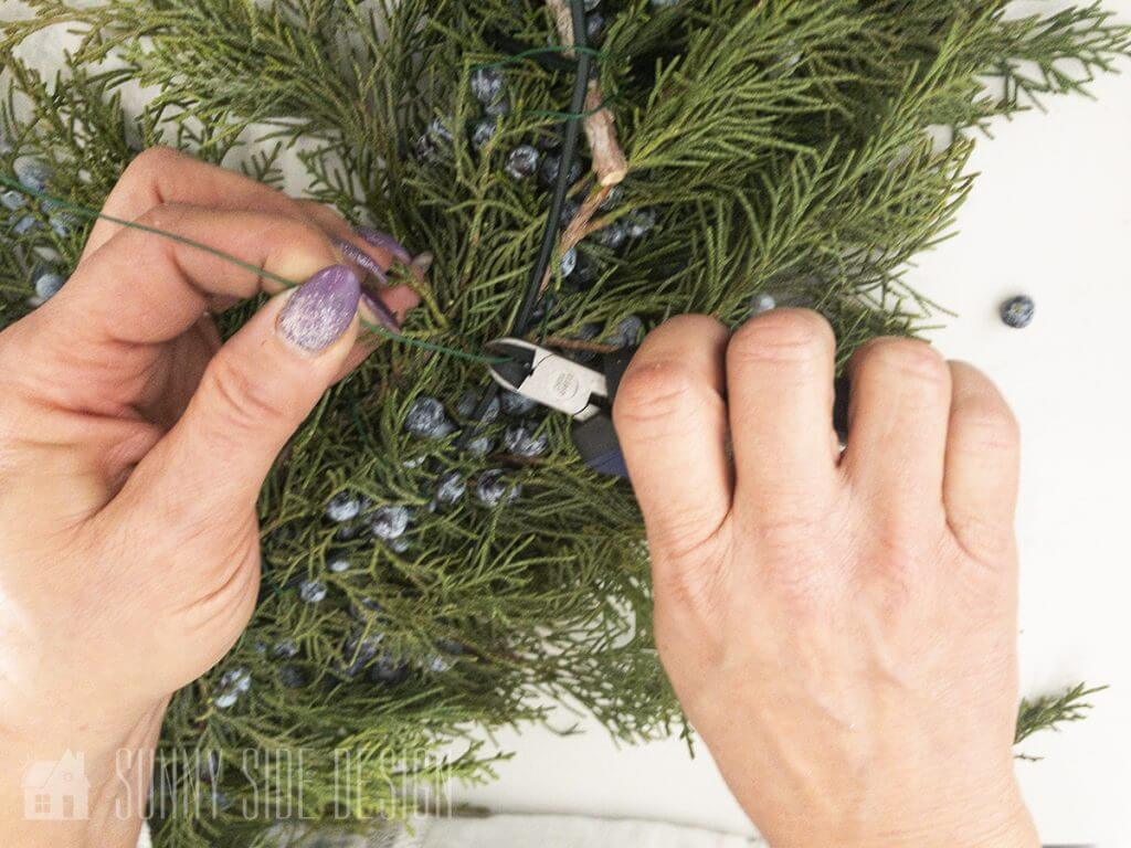 Decorating with Fresh Greens