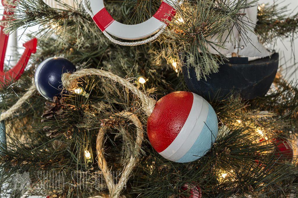 coastal Christmas decorations