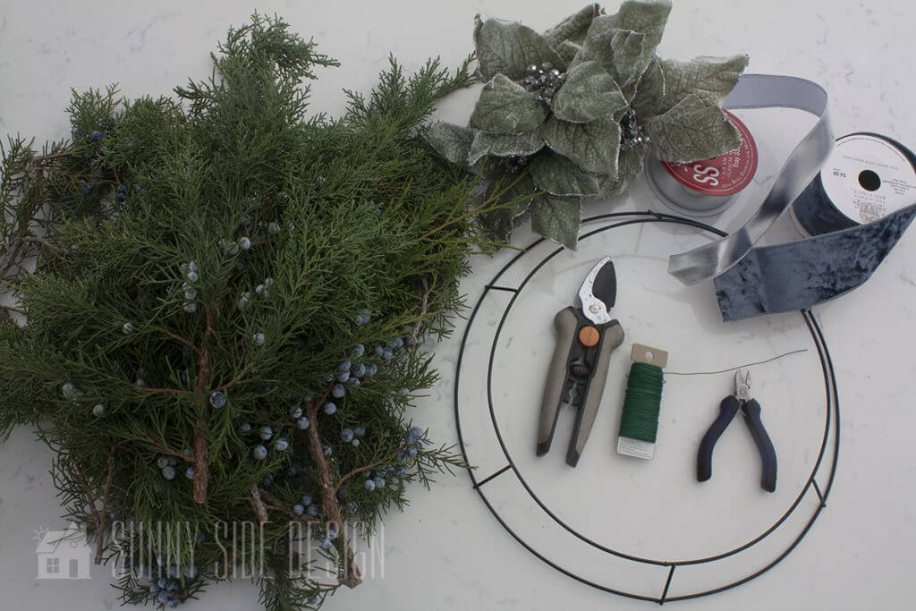 Decorating with Fresh Evergreen