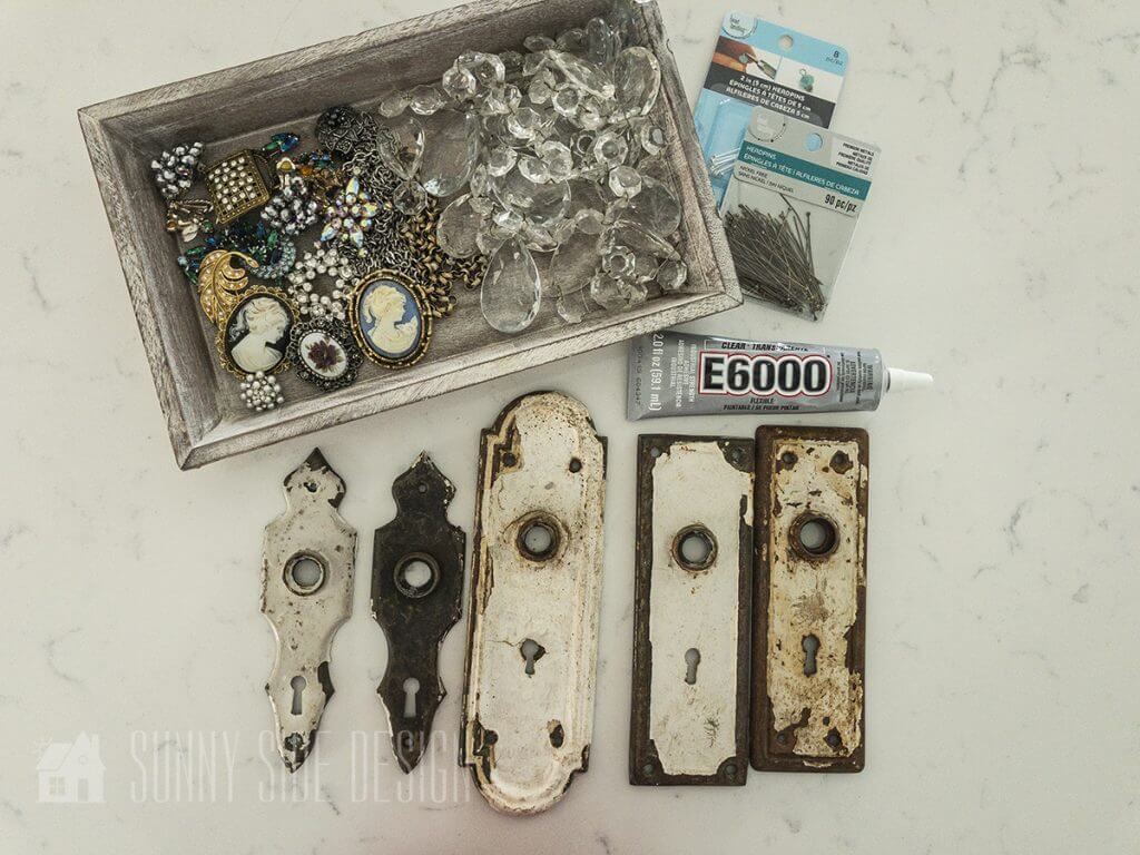 Upcycle Vintage Door Plates