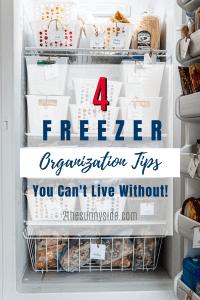 freezer organization 1