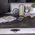 Thrift Store Desk Makeover