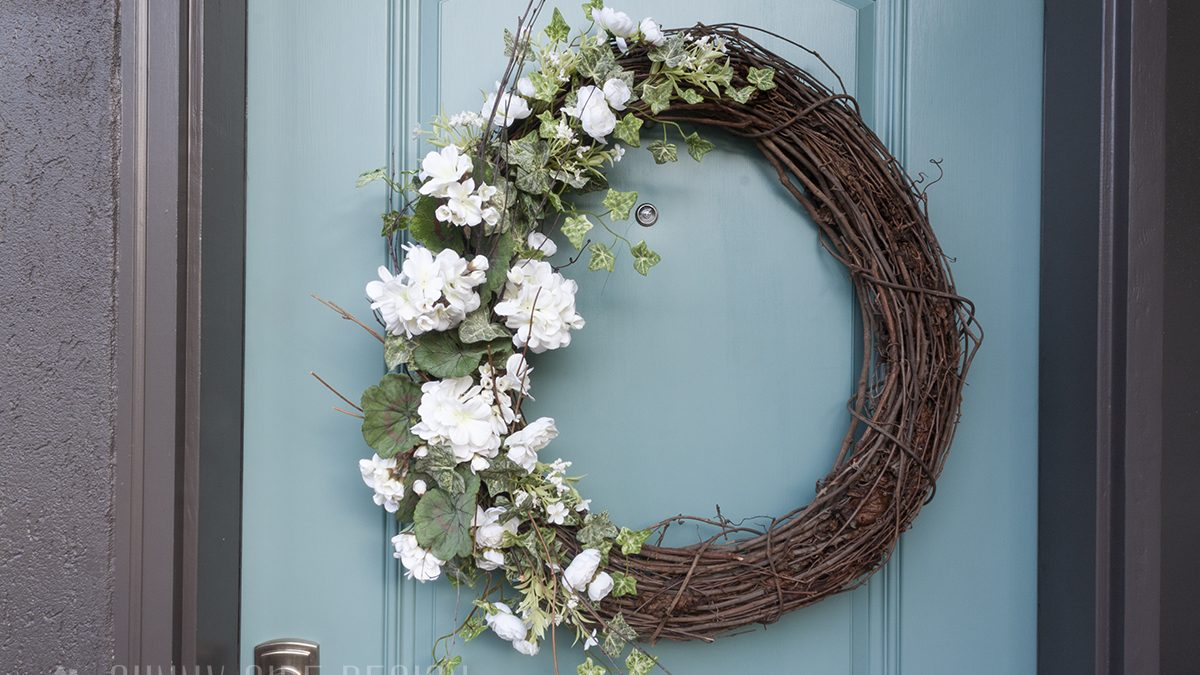 Door Wreath for Summer | Ideas for Front Door Decor