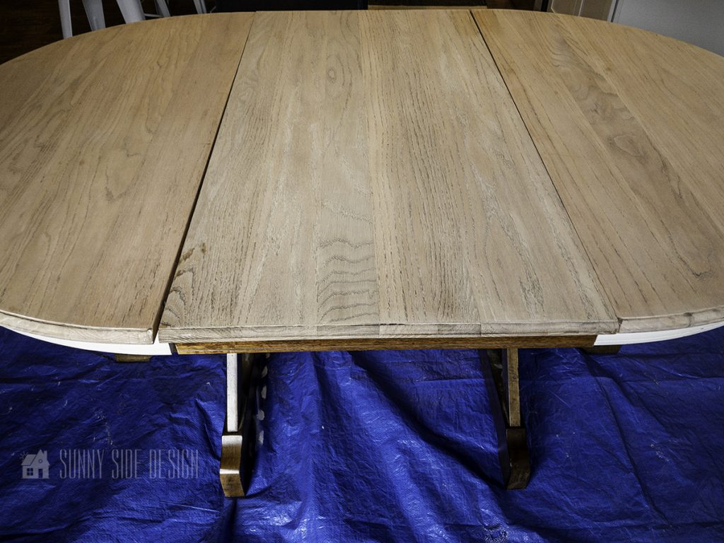 after wood table bleached 1x