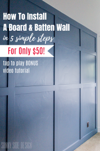 Pin image for diy board and batten wall