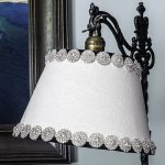 Vintage Lampshade Makeover