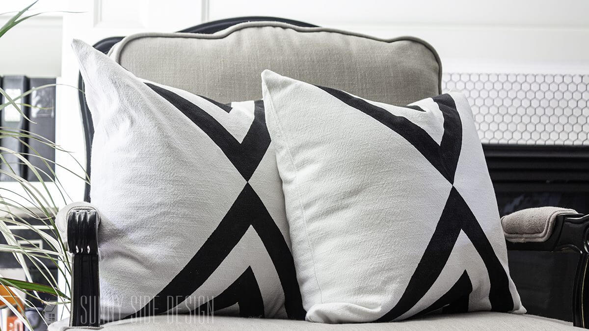 Decorating a Pillow with Paint