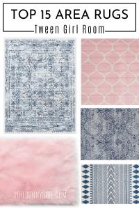 top 15 area rugs for bedroom tween girl