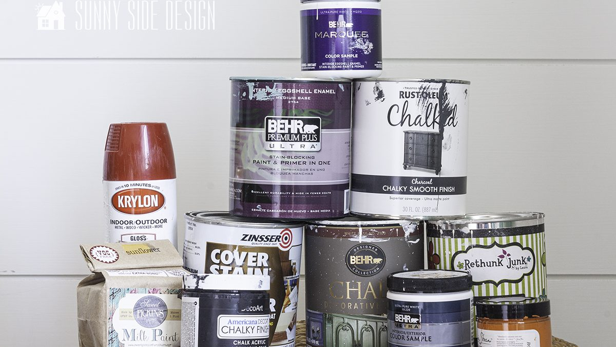 Painting Furniture | Different Types of Paint & When to Use Them