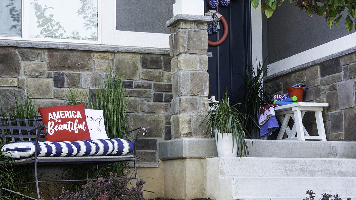 4th of July Decorations | Ideas For the Front Porch