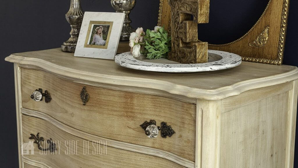How To Refinish Furniture With A Raw Wood Look Sunny Side Design