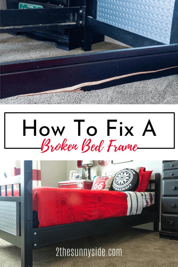 fix a broken bed