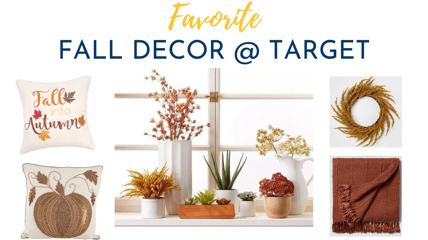 Fall Decor Favorites @ Target