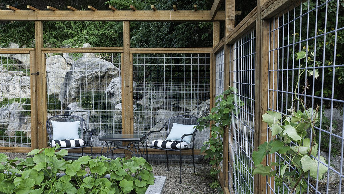 Deer Fence for the Garden