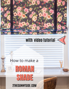 5 elementsRoman Shades -  How to Make Them Yourself