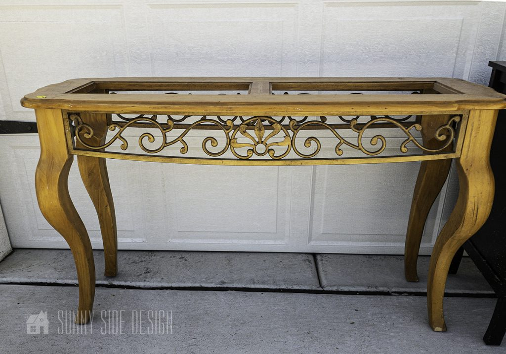 Sofa Table Upcycle