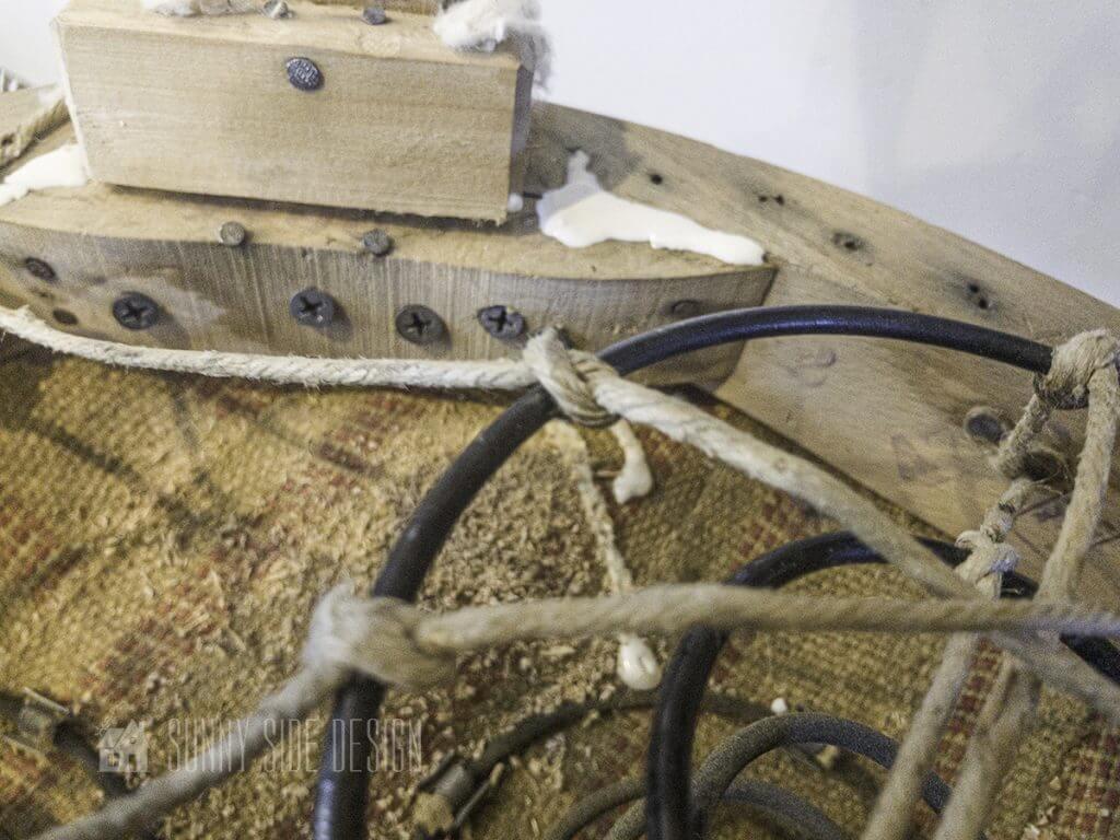 Repair a wobbly chair