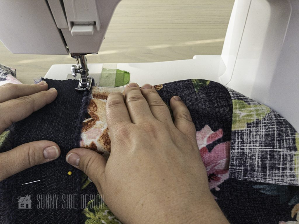 Sewing a Roman Shade