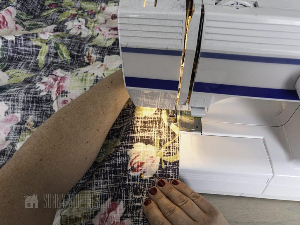 DIY a Roman Shade