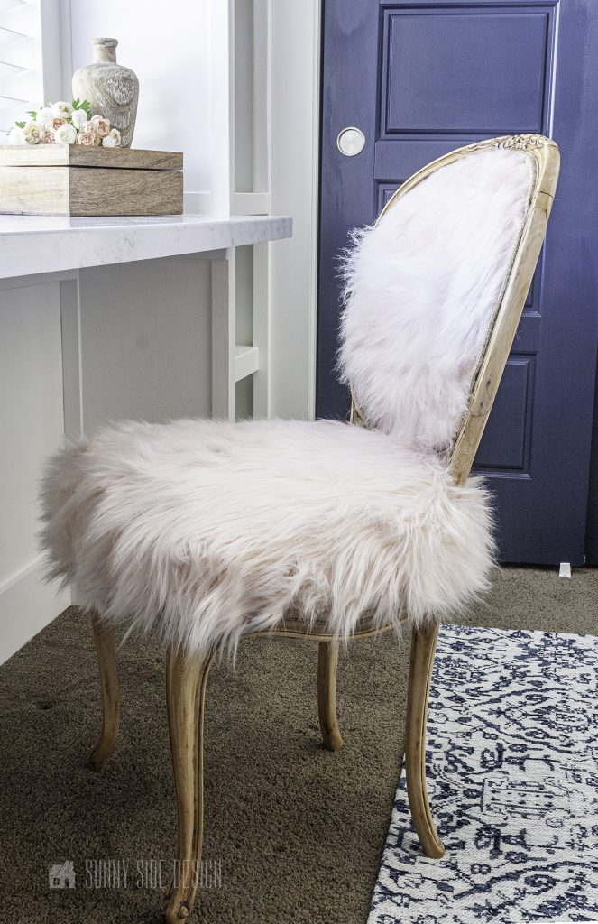 French Country Boho style chair