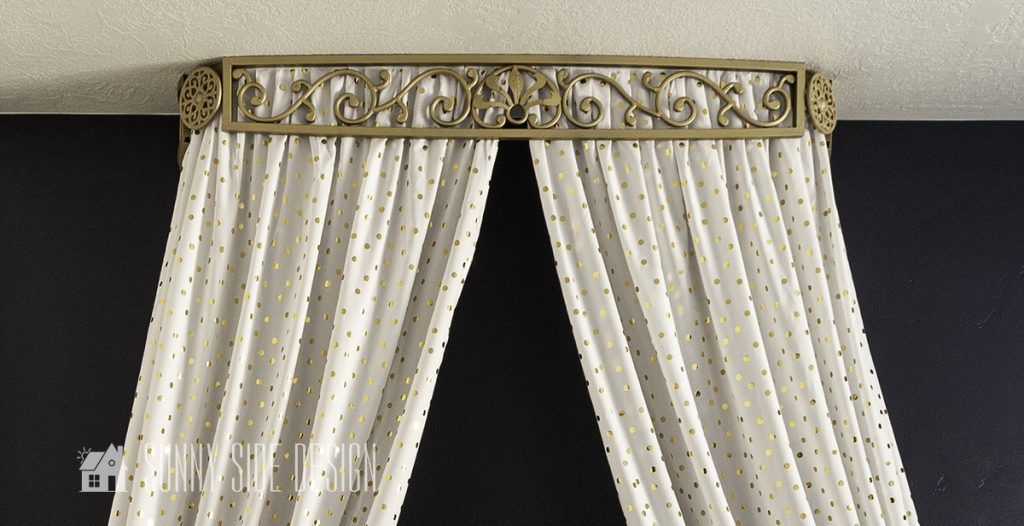 French bed crown canopy