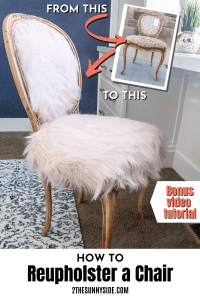 Love this fun and chic French Country Boho chair.