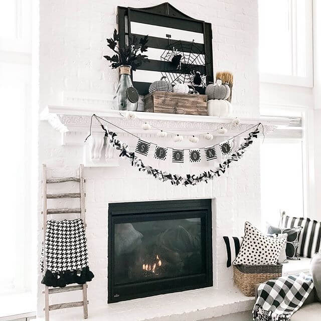 Ideas for Halloween decor for Mantles