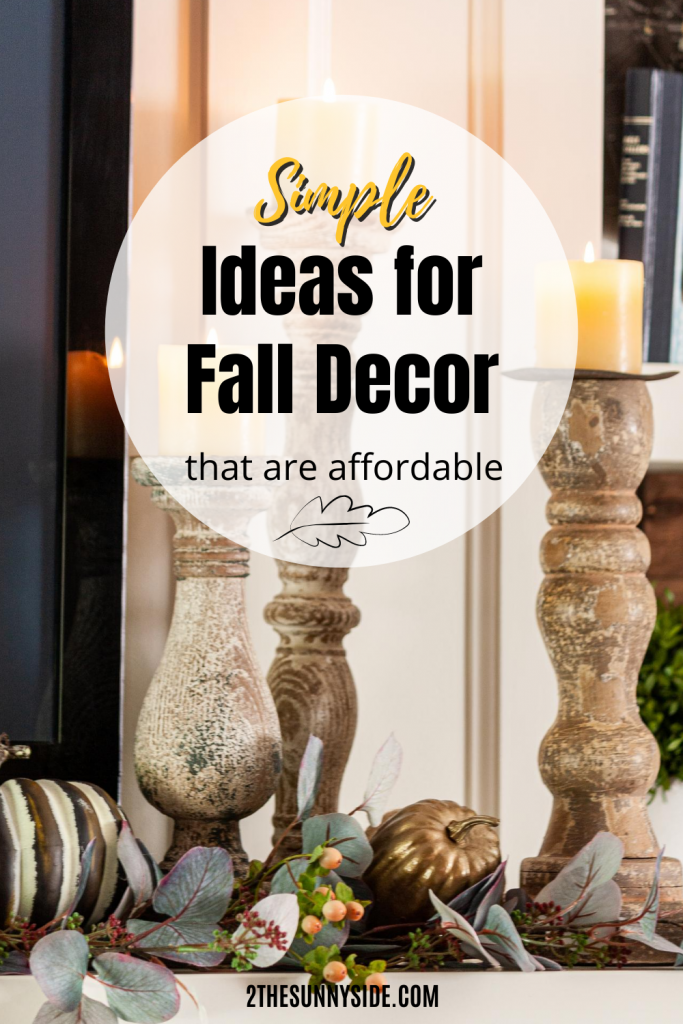 Simple Ideas for Fall Decorating